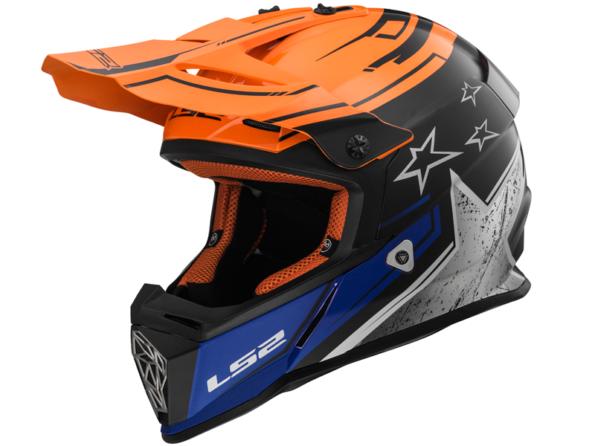 MX 437 CORE Oranžs Melns FAST