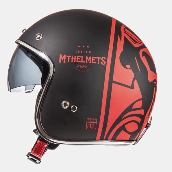 MT Le Mans SV Divenire melna/sarkana matēta