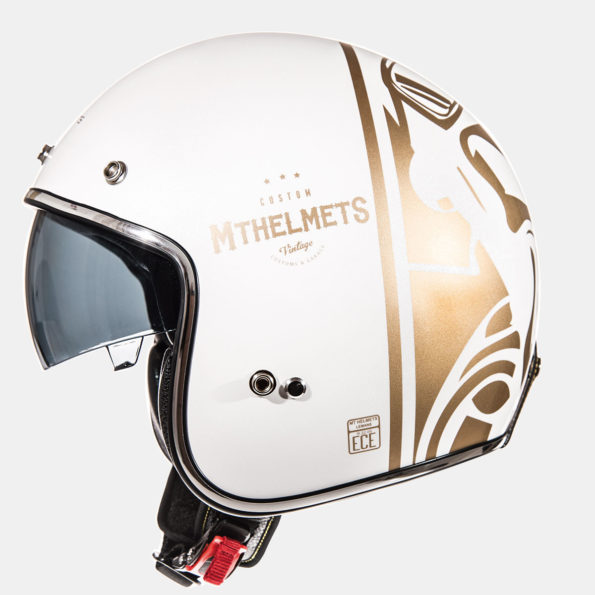 MT Le Mans Divenire balta/zelta spīdīga