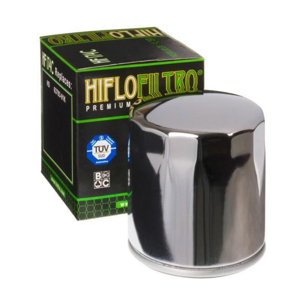 Eļļas filtrs Hiflo HF174C chrome
