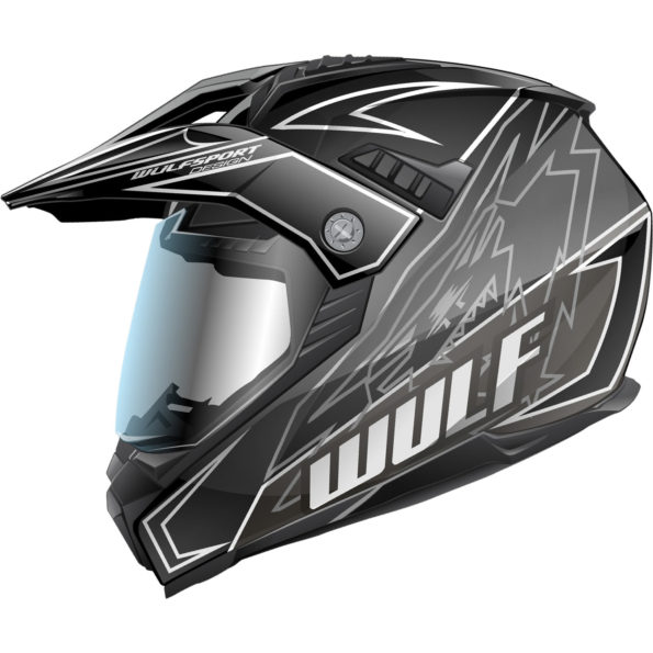 Wulfsport Prima – X dual sport – melna