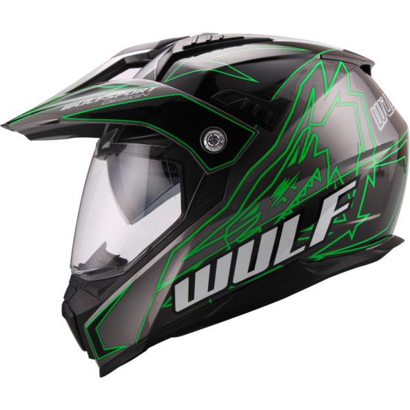 Wulfsport Prima X – dual sport – zaļa