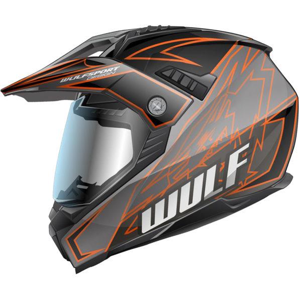 Wulfsport Prima – X dual sport – oranža