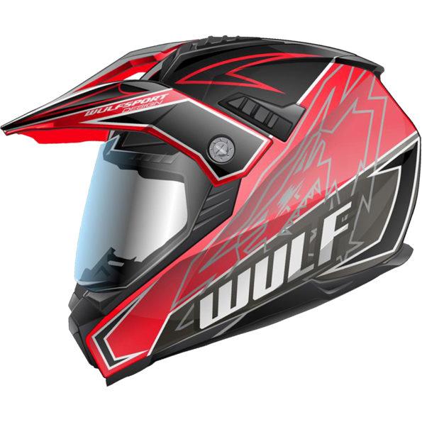 Wulfsport Prima – X dual sport – sarkana