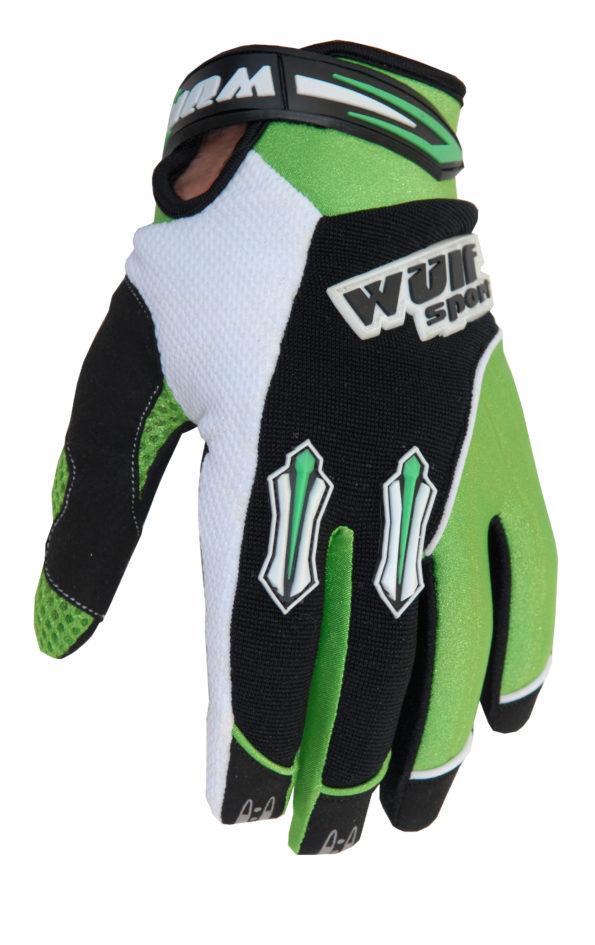 Wulfsport Stratos cimdi – zaļi