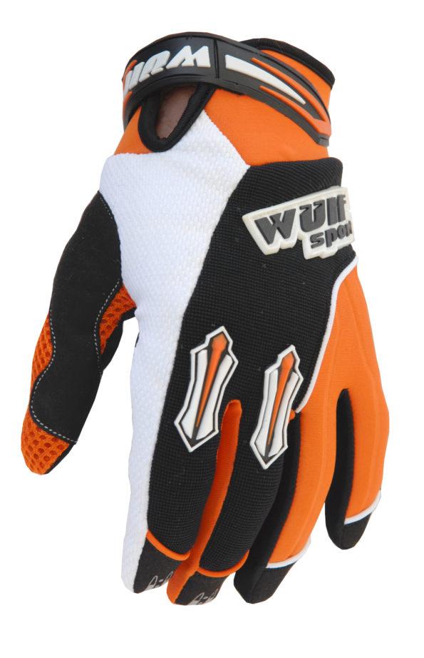 Wulfsport Stratos cimdi – oranži