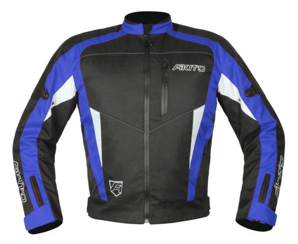 Akito Horizon motojaka melna/zila