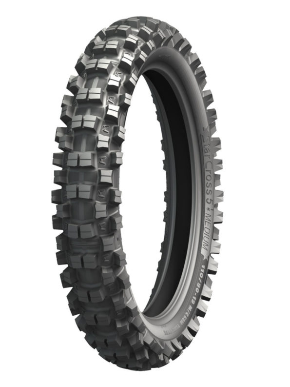 MICHELIN STARCROSS 5 100/90-19 MEDIUM 57M TT M/C Back