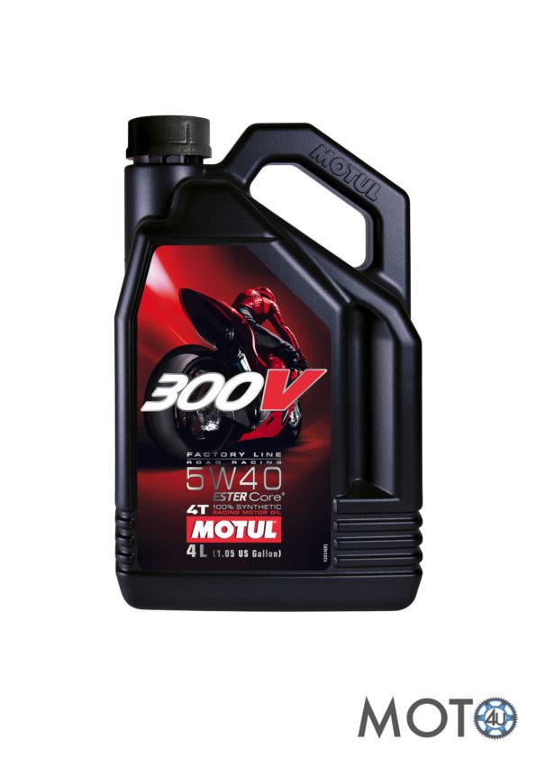 Eļļa Motul 300V 4L 5w40 100% Sintētika