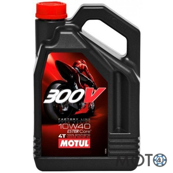 Eļļa Motul 300V 4L 10w40 100% sintētika