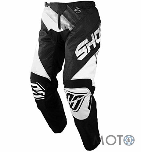 SHOT Cross Racing DEVO ULTIMATE Bikses BLACK / WHITE (2019)