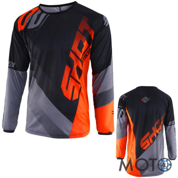 SHOT Cross Racing DEVO ULTIMATE Krekls BLACK/GREY/ ORANGE(2019)