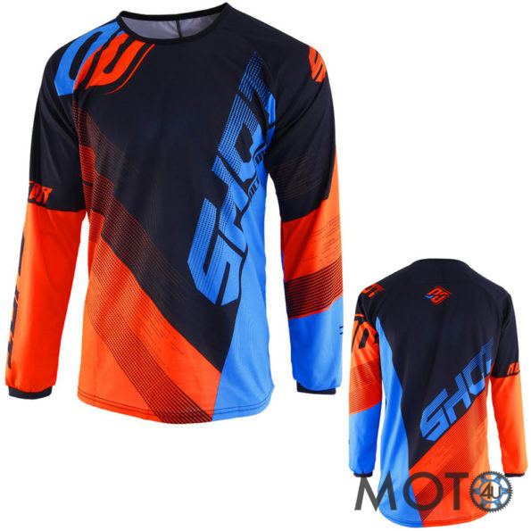 SHOT Cross Racing DEVO ULTIMATE Krekls BLACK/BLUE/Orange (2019)