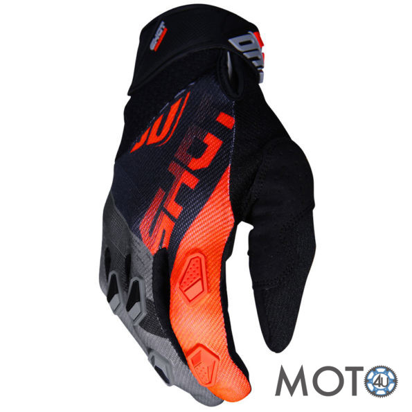 SHOT Racing Cimdi DEVO Ultimate BLACK/GREY/ORANGE (2019)