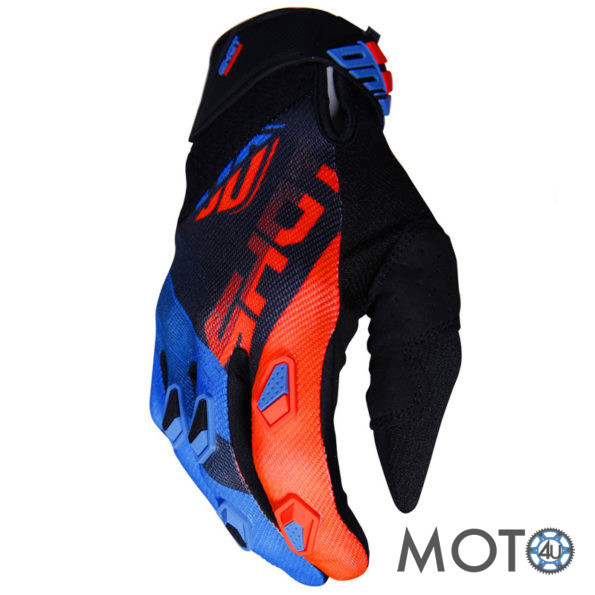 SHOT Racing Cimdi DEVO Ultimate BLACK/BLUE/Orange (2019)