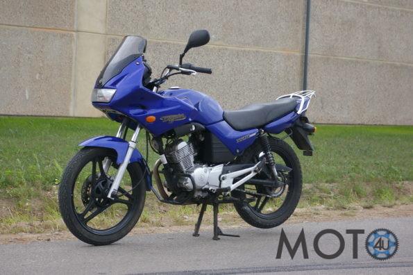 Yamaha Diversion 125 2006.g