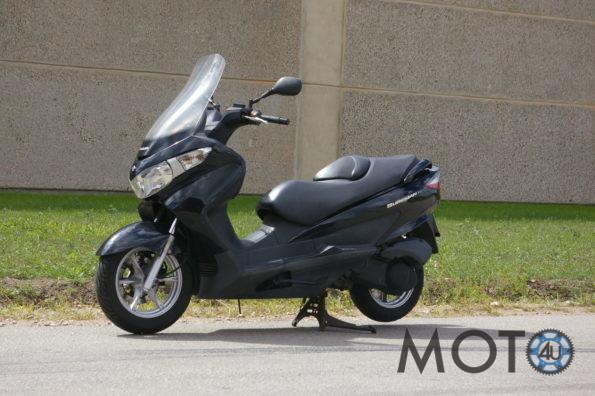 Suzuki Burgman 125 2011.g black