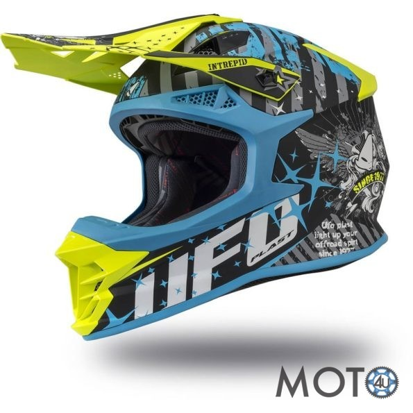 UFO INTREPID 2020 Sky Blue/Yellow