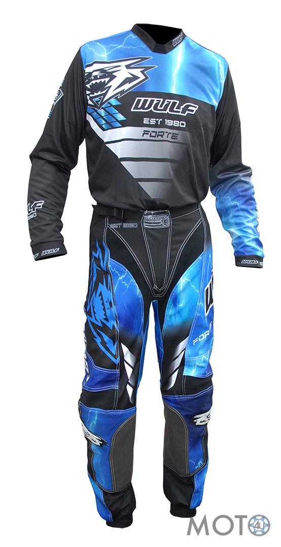 Wulfsport Forte – Bikses un krekls, zils