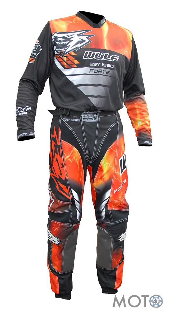 Wulfsport Forte – Bikses un krekls, oranžs